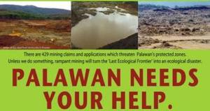 anti-mining palawan-poster