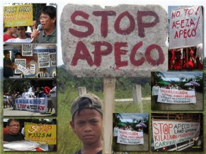 APECO Resistance - Farmers, Indigenous People, Outside Groups